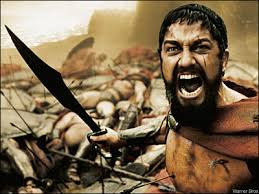 Image from the movie 300 by Warner Bros.